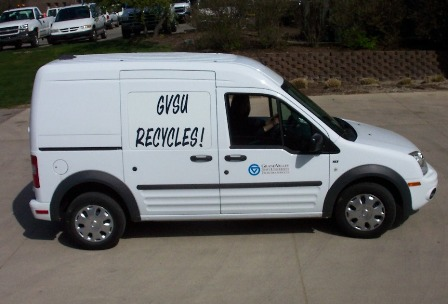 GVSU Recycles Van